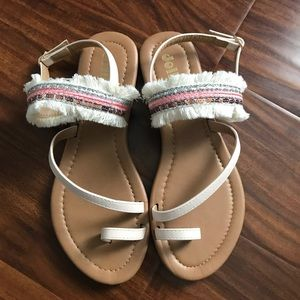 Shoes - Sandals with fringe